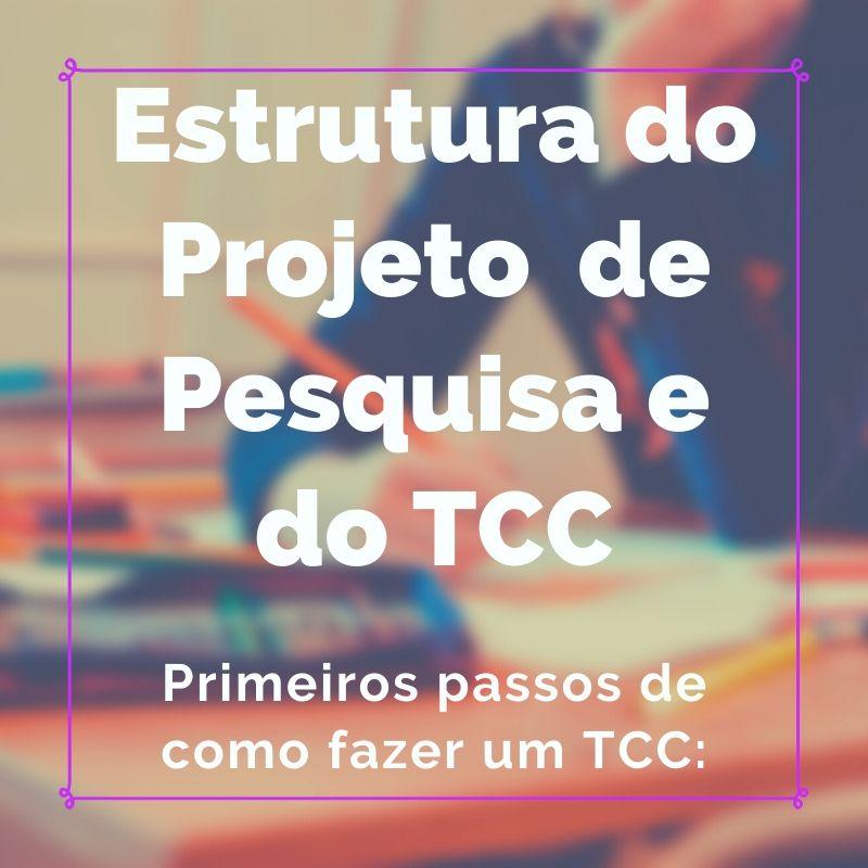 Primeiros passos em como fazer um TCC